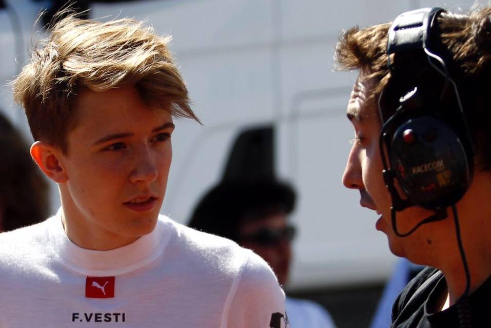 Mercedes adds F3 charger Vesti to junior programme