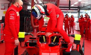 Alesi says 'emotions' were flowing during son's Ferrari run