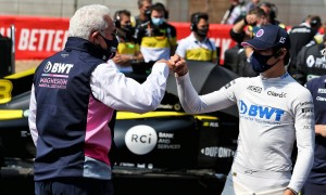 Lawrence Stroll impressed by son Lance's 'stellar job'
