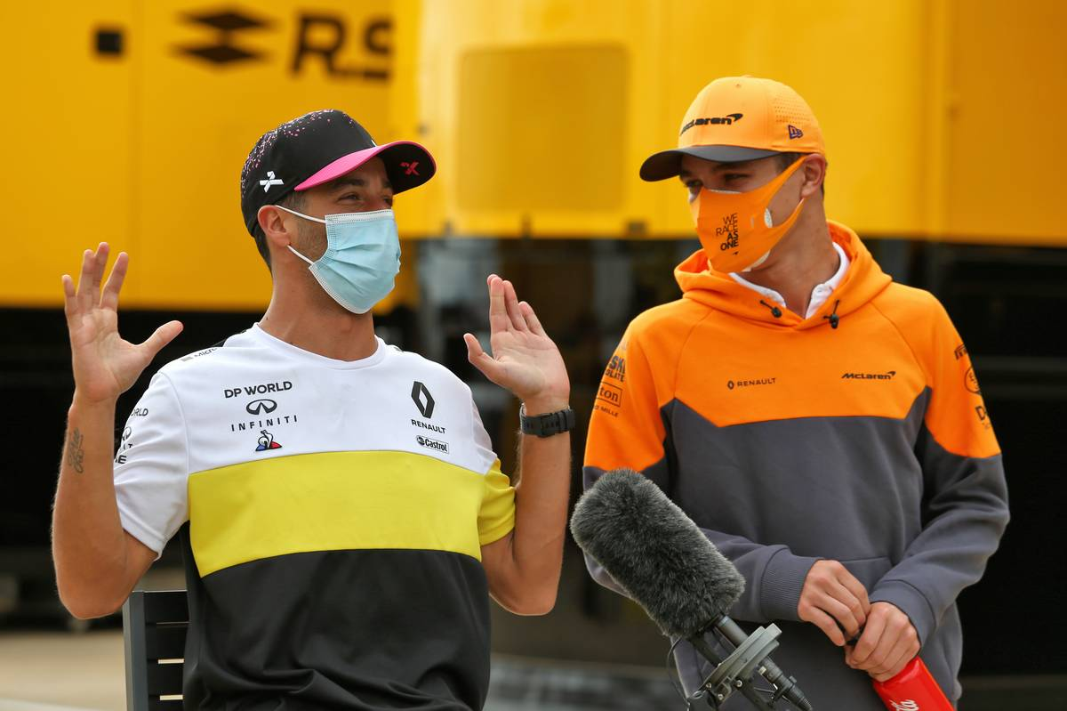 Norris eager to learn from Ricciardo rather than worry
