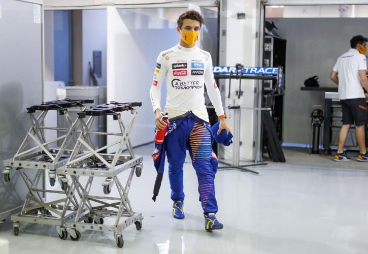 McLaren F1 driver Norris tests positive for coronavirus