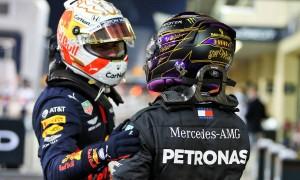 'Whole world' waiting for Max v Lewis in same car - Verstappen Snr
