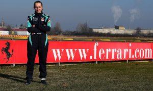 Maya Weug is first female to join Ferrari Driver Academy