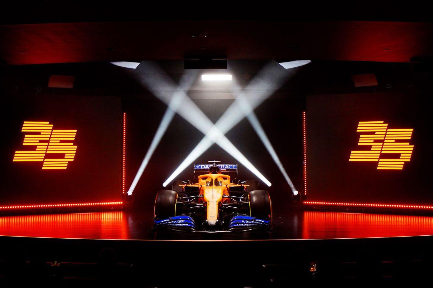 McLaren reveals launch date for MCL35M