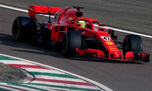 Schumacher enjoys trouble-free day of testing with Ferrari