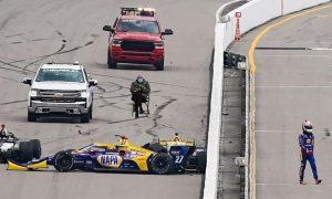 The Bernie meme makes it to IndyCar!