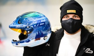 Bottas preps for Lapland cold dash