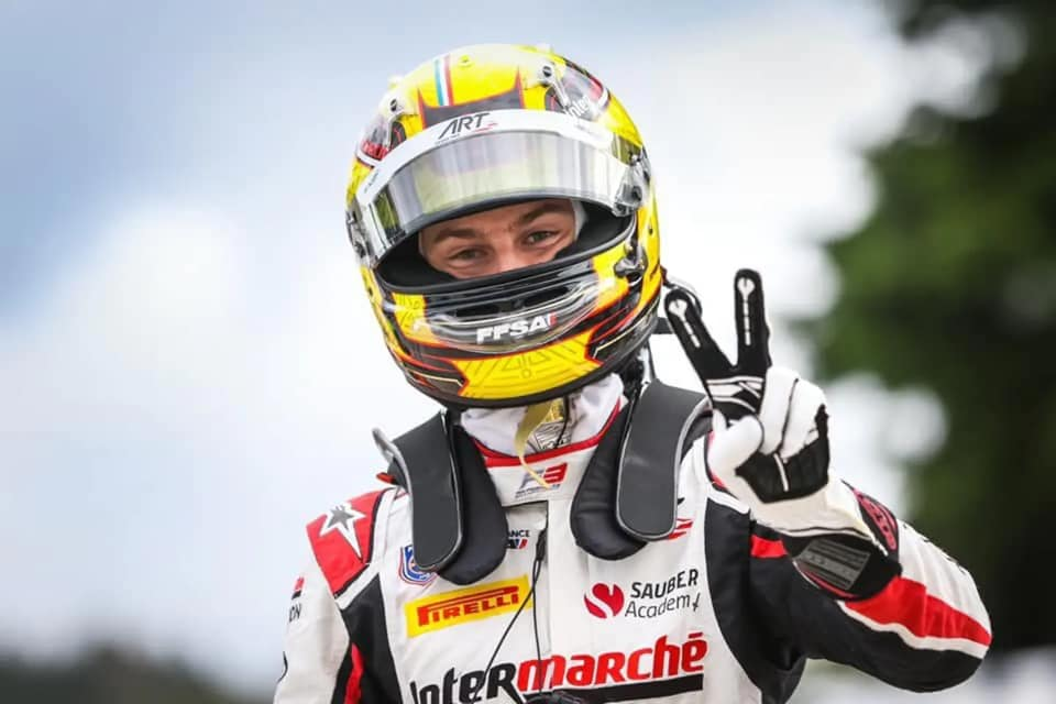 Sauber junior Pourchaire joins ART for F2 campaign