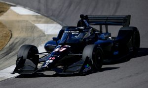 Grosjean really happy after 'great' maiden IndyCar test