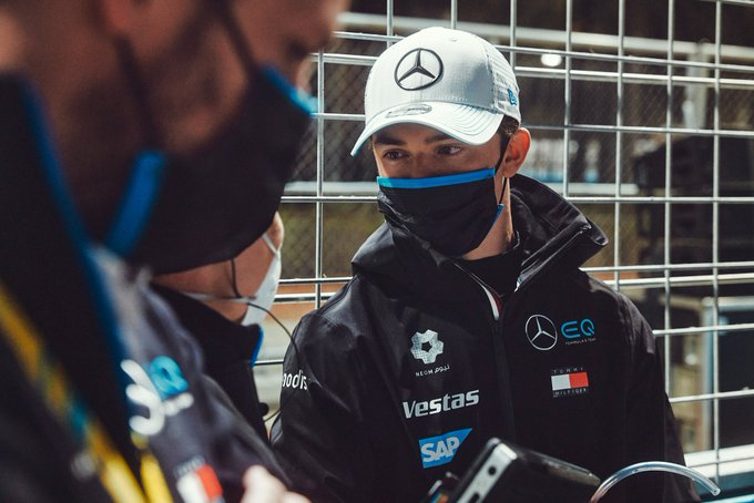Nyck de Vries, Mercedes - Diriyah E-Prix - February 26 2021