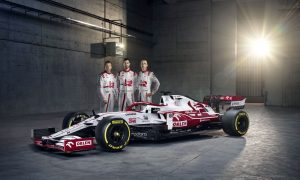Alfa Romeo Racing unveils striking new C41 charger!