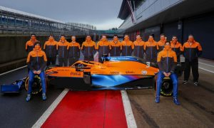 McLaren's shakedown day at Silverstone in pictures