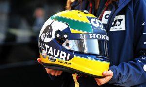 Gasly donates Imola helmet to Ayrton Senna Foundation