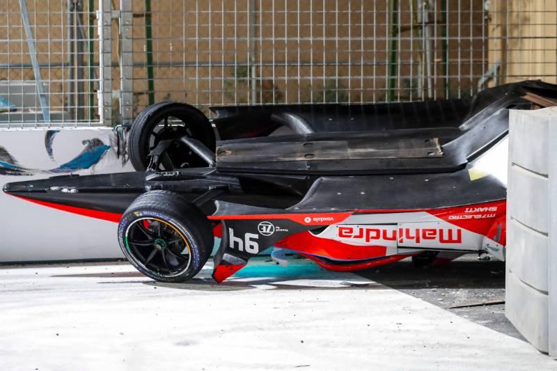 Jaguar's Bird wins crash-marred second Diriyah E-Prix