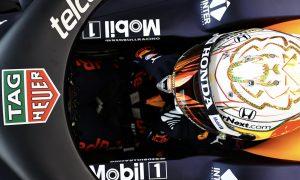 Verstappen reveals 2021 helmet ahead of Silverstone warm-up