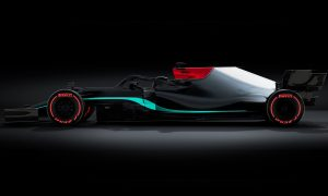 Mercedes leaks sneak peek at all-new W12 livery!