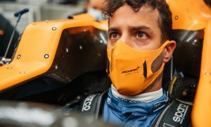 Danny Ric is ready to roll with McLaren!