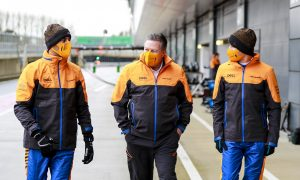 Brown expects 'evenly matched' Ricciardo and Norris