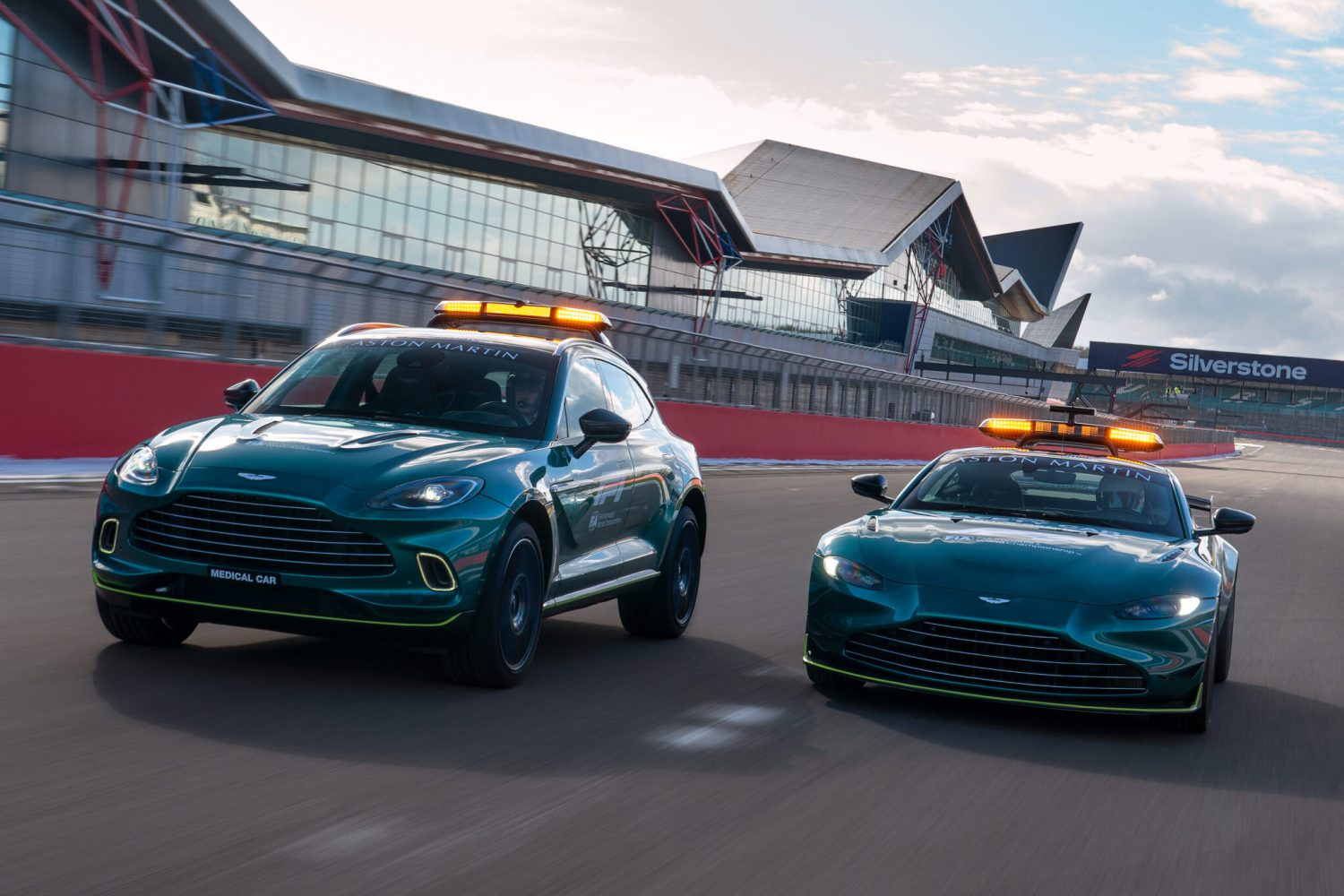 F1 rolls out new Aston Martin Safety and Medical cars