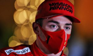 Leclerc sees slim chance of podium despite strong quali