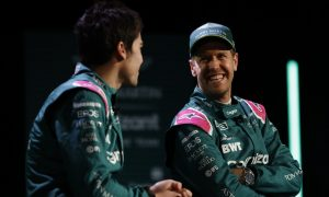 'Old guy' Vettel happy to help talented Stroll