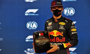 'Enjoyable to drive' - Verstappen 'very happy' with pole