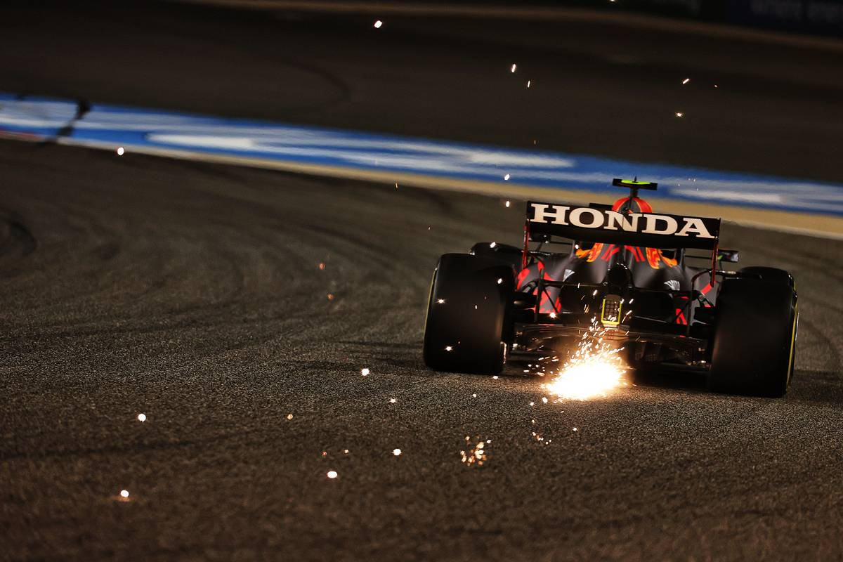 Sergio Perez (MEX) Red Bull Racing RB16B. 27.03.2021. Formula 1 World Championship, Rd 1, Bahrain Grand Prix