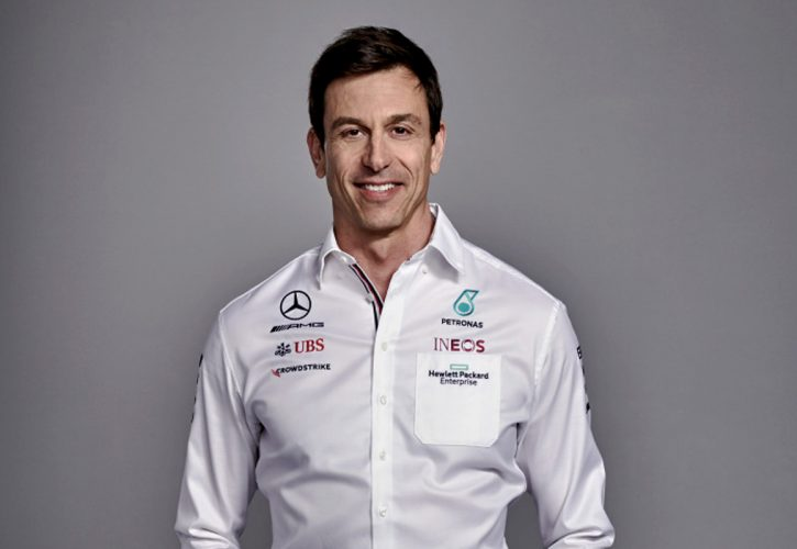 Toto Wolff, Mercedes Team principal. W12 launch March 2 2021.