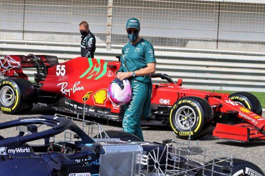 Sebastian Vettel (GER) Aston Martin F1 Team. 12.03.2021. Formula 1 Testing, Sakhir, Bahrain, Day One. - www.xpbimages.com, EMail: requests@xpbimages.com © Copyright: Moy / XPB Images