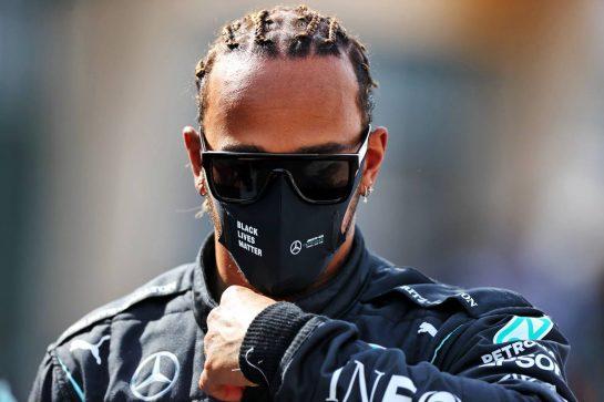Lewis Hamilton (GBR) Mercedes AMG F1. 12.03.2021. Formula 1 Testing, Sakhir, Bahrain, Day One. - www.xpbimages.com, EMail: requests@xpbimages.com © Copyright: Moy / XPB Images