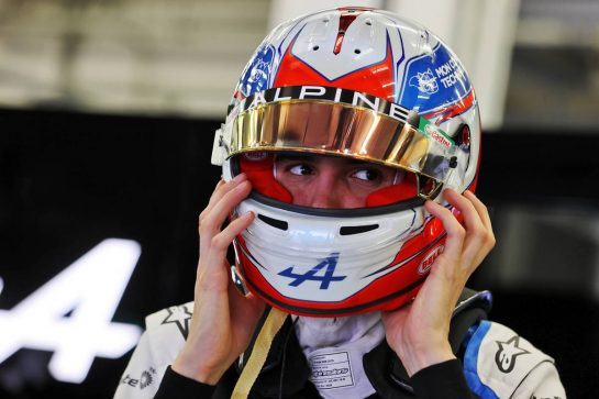 Esteban Ocon (FRA) Alpine F1 Team. 12.03.2021. Formula 1 Testing, Sakhir, Bahrain, Day One. - www.xpbimages.com, EMail: requests@xpbimages.com © Copyright: Moy / XPB Images