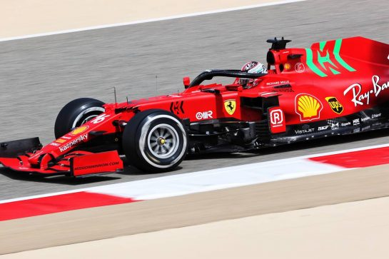 Charles Leclerc (MON) Ferrari SF-21. 12.03.2021. Formula 1 Testing, Sakhir, Bahrain, Day One. - www.xpbimages.com, EMail: requests@xpbimages.com © Copyright: Charniaux / XPB Images