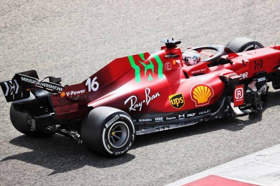 Charles Leclerc (MON) Ferrari SF-21. 12.03.2021. Formula 1 Testing, Sakhir, Bahrain, Day One. - www.xpbimages.com, EMail: requests@xpbimages.com © Copyright: Batchelor / XPB Images