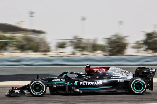 Valtteri Bottas (FIN) Mercedes AMG F1 W12. 12.03.2021. Formula 1 Testing, Sakhir, Bahrain, Day One. - www.xpbimages.com, EMail: requests@xpbimages.com © Copyright: Batchelor / XPB Images