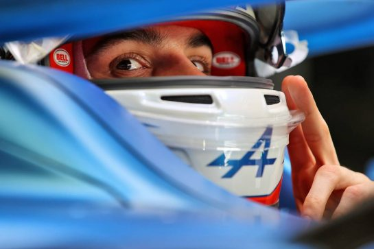 Esteban Ocon (FRA) Alpine F1 Team A521. 12.03.2021. Formula 1 Testing, Sakhir, Bahrain, Day One. - www.xpbimages.com, EMail: requests@xpbimages.com © Copyright: Moy / XPB Images