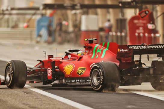 Carlos Sainz Jr (ESP) Ferrari SF-21. 12.03.2021. Formula 1 Testing, Sakhir, Bahrain, Day One. - www.xpbimages.com, EMail: requests@xpbimages.com © Copyright: Moy / XPB Images