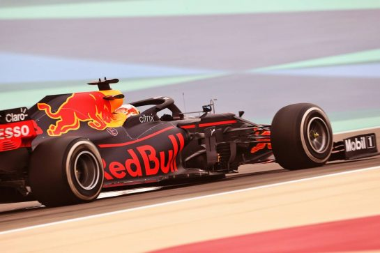 Max Verstappen (NLD) Red Bull Racing RB16B. 12.03.2021. Formula 1 Testing, Sakhir, Bahrain, Day One. - www.xpbimages.com, EMail: requests@xpbimages.com © Copyright: Charniaux / XPB Images