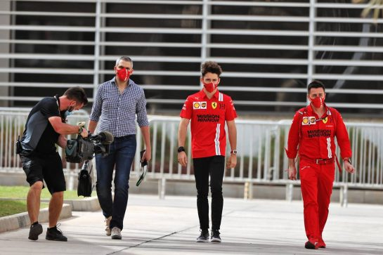 Charles Leclerc (MON) Ferrari. 13.03.2021. Formula 1 Testing, Sakhir, Bahrain, Day Two. - www.xpbimages.com, EMail: requests@xpbimages.com © Copyright: Moy / XPB Images