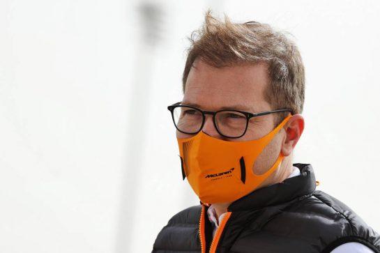 Andreas Seidl, McLaren Managing Director. 13.03.2021. Formula 1 Testing, Sakhir, Bahrain, Day Two. - www.xpbimages.com, EMail: requests@xpbimages.com © Copyright: Batchelor / XPB Images