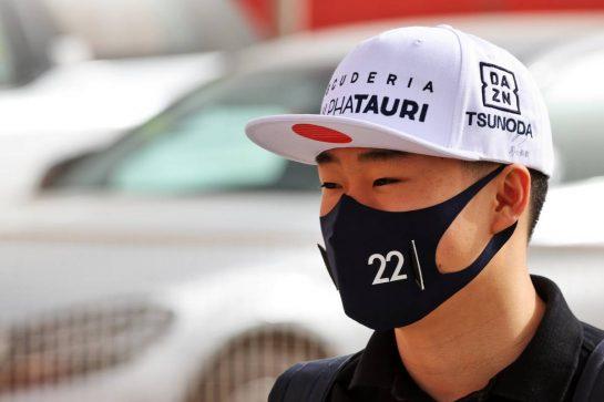 Yuki Tsunoda (JPN) AlphaTauri. 13.03.2021. Formula 1 Testing, Sakhir, Bahrain, Day Two. - www.xpbimages.com, EMail: requests@xpbimages.com © Copyright: Batchelor / XPB Images