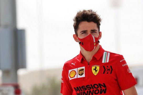 Charles Leclerc (MON) Ferrari. 13.03.2021. Formula 1 Testing, Sakhir, Bahrain, Day Two. - www.xpbimages.com, EMail: requests@xpbimages.com © Copyright: Batchelor / XPB Images