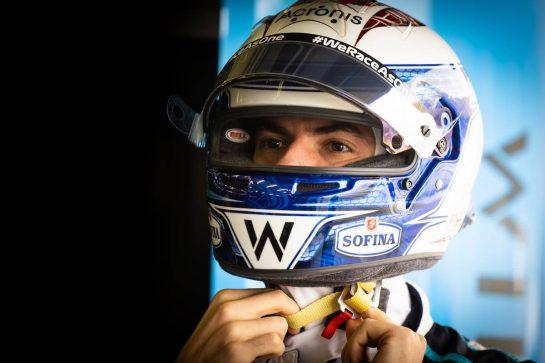 Nicholas Latifi (CDN) Williams Racing. 13.03.2021. Formula 1 Testing, Sakhir, Bahrain, Day Two. - www.xpbimages.com, EMail: requests@xpbimages.com © Copyright: Bearne / XPB Images