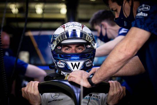 Nicholas Latifi (CDN) Williams Racing FW43B. 13.03.2021. Formula 1 Testing, Sakhir, Bahrain, Day Two. - www.xpbimages.com, EMail: requests@xpbimages.com © Copyright: Bearne / XPB Images
