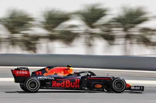 Sergio Perez (MEX) Red Bull Racing RB16B. 13.03.2021. Formula 1 Testing, Sakhir, Bahrain, Day Two. - www.xpbimages.com, EMail: requests@xpbimages.com © Copyright: Batchelor / XPB Images