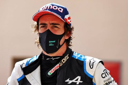Fernando Alonso (ESP) Alpine F1 Team. 13.03.2021. Formula 1 Testing, Sakhir, Bahrain, Day Two. - www.xpbimages.com, EMail: requests@xpbimages.com © Copyright: Moy / XPB Images