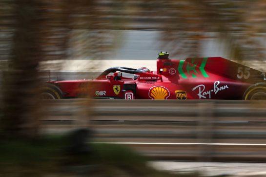 Carlos Sainz Jr (ESP), Scuderia Ferrari 13.03.2021. Formula 1 Testing, Sakhir, Bahrain, Day Two.- www.xpbimages.com, EMail: requests@xpbimages.com © Copyright: Charniaux / XPB Images