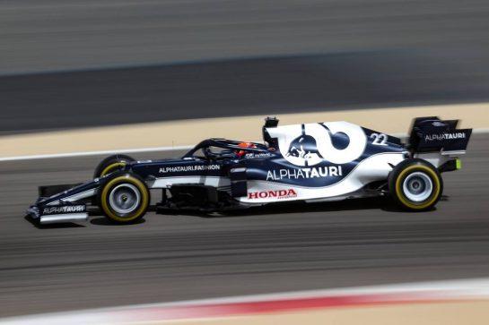 Yuki Tsunoda (JPN), Alpha Tauri 13.03.2021. Formula 1 Testing, Sakhir, Bahrain, Day Two.- www.xpbimages.com, EMail: requests@xpbimages.com © Copyright: Charniaux / XPB Images