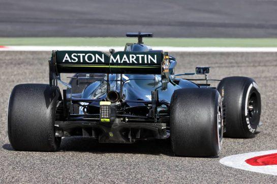 Lance Stroll (CDN) Aston Martin F1 Team AMR21. 13.03.2021. Formula 1 Testing, Sakhir, Bahrain, Day Two. - www.xpbimages.com, EMail: requests@xpbimages.com © Copyright: Batchelor / XPB Images