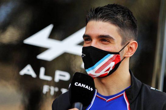 Esteban Ocon (FRA) Alpine F1 Team. 13.03.2021. Formula 1 Testing, Sakhir, Bahrain, Day Two. - www.xpbimages.com, EMail: requests@xpbimages.com © Copyright: Moy / XPB Images