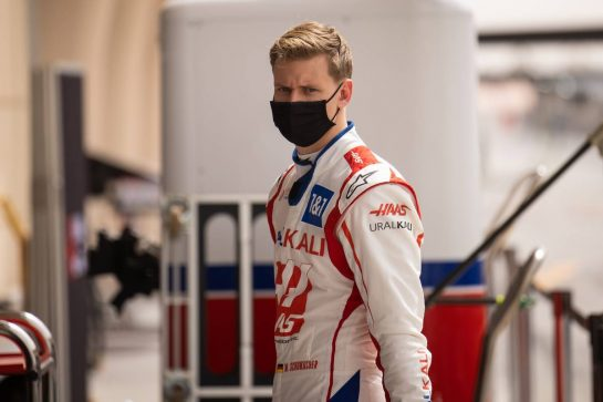 Mick Schumacher (GER) Haas F1 Team. 13.03.2021. Formula 1 Testing, Sakhir, Bahrain, Day Two. - www.xpbimages.com, EMail: requests@xpbimages.com © Copyright: Bearne / XPB Images